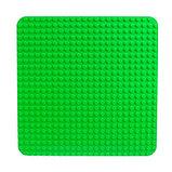 Пластина-основание для конструктора, 38,4*38,4 см, цвет зелёный, фото 2