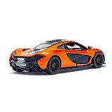 Машина металлическая McLaren P1, масштаб 1:36, открываются двери, инерция, цвет оранжевый, фото 3