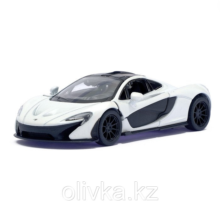Машина металлическая McLaren P1, масштаб 1:36, открываются двери, инерция, цвет белый