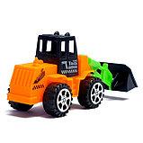 Трактор инерционный, цвета МИКС, фото 3