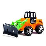 Трактор инерционный, цвета МИКС, фото 4