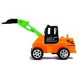 Трактор инерционный, цвета МИКС, фото 7