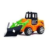 Трактор инерционный, цвета МИКС, фото 8