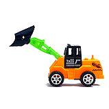 Трактор инерционный, цвета МИКС, фото 9