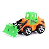 Трактор инерционный, цвета МИКС, фото 10