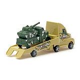 Машина инерционная «Вооружённые силы», с маленькой машинкой, цвета МИКС, фото 3