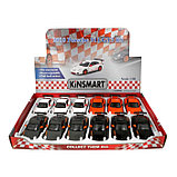 Машина металлическая Porsche 911 GT3 RS, 1:36, открываются двери, инерция, цвет оранжевый, фото 2