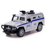 Джип металлический «Спецслужбы», 1:32, инерция, МИКС, фото 5