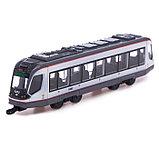 Трамвай металлический «Город», масштаб 1:43, инерция, МИКС, фото 5