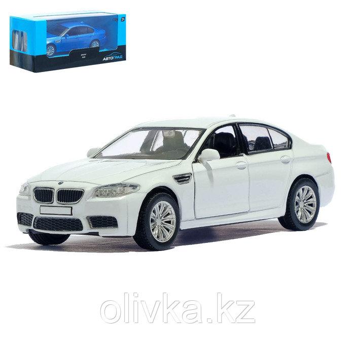 Машина металлическая BMW M5, 1:32, инерция, цвет белый