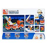 Конструктор «Пожарная машина с лестницей», 269 деталей, фото 2