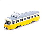 Трамвай металлический «Город», инерционный, МИКС, фото 4