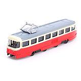 Трамвай металлический «Город», инерционный, МИКС, фото 5