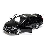 Машина металлическая TOYOTA CAMRY, 12 см открываются двери, инерционная, цвет чёрный, фото 4
