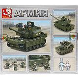 Конструктор «Штурмовой танк», 312 деталей, фото 2