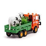 Грузовик инерционный «Фермер», цвета МИКС, фото 8