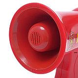 Мегафон «Пожарный», 2 режима: сирена, громкоговоритель, работает от батареек, фото 2