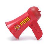 Мегафон «Пожарный», 2 режима: сирена, громкоговоритель, работает от батареек, фото 3