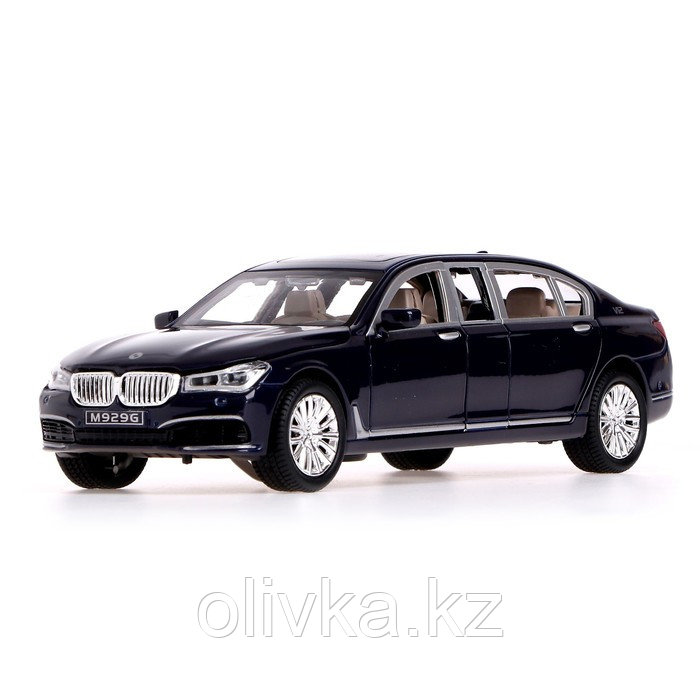 Машина металлическая «Лимузин», 1:24, открываются двери, капот, багажник, инерция, МИКС