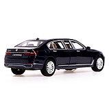 Машина металлическая «Лимузин», 1:24, открываются двери, капот, багажник, инерция, МИКС, фото 3