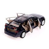 Машина металлическая «Лимузин», 1:24, открываются двери, капот, багажник, инерция, МИКС, фото 5