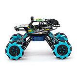 Машина радиоуправляемая «Джип-акробат», 4WD полный привод, движение во всех направлениях, цвета МИКС, фото 2