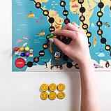 Настольная развивающая игра «Кругосветная математика», фото 10