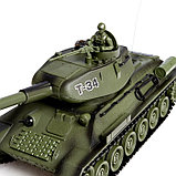 Танковый бой «Великое сражение» на радиоуправлении, 2 танка, световые и звуковые эффекты, фото 4