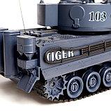 Танковый бой «Великое сражение» на радиоуправлении, 2 танка, световые и звуковые эффекты, фото 8