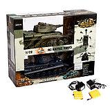 Танковый бой «Великое сражение» на радиоуправлении, 2 танка, световые и звуковые эффекты, фото 9