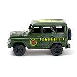 Машина инерционная «Джип Вооруженные силы», открываются двери, фото 2