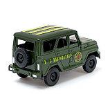 Машина инерционная «Джип Вооруженные силы», открываются двери, фото 3