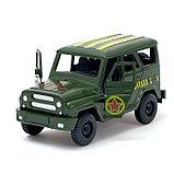 Машина инерционная «Джип Вооруженные силы», открываются двери, фото 4