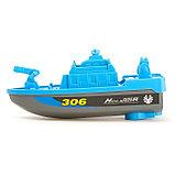 Катер «Береговая охрана», работает от батареек, цвета МИКС., фото 2