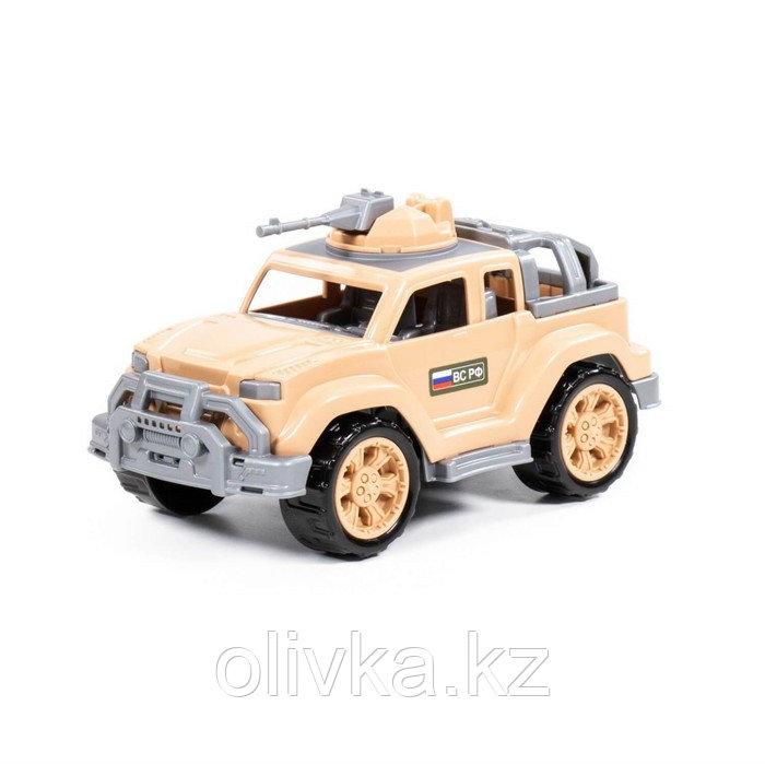 Автомобиль-джип военный-сафари «Легионер-мини» с 1-м пулемётом