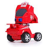Робот инерционный «Авторобот», трансформируется при столкновении, цвета МИКС, фото 5