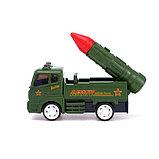 Машина инерционная «Ракетница», световые и звуковые эффекты, МИКС, фото 2