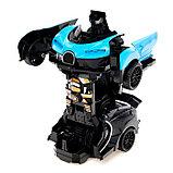 Робот инерционный «Широн», трансформируется при столкновении, цвета МИКС, фото 3