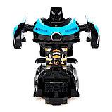 Робот инерционный «Широн», трансформируется при столкновении, цвета МИКС, фото 4