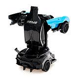 Робот инерционный «Широн», трансформируется при столкновении, цвета МИКС, фото 5