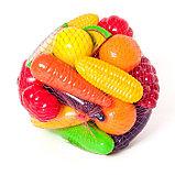 Набор «Фрукты-овощи» 24 предмета, фото 2