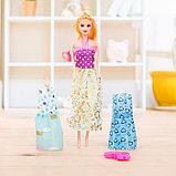 Кукла модель «Арина» с летними нарядами и аксессуарами, МИКС, фото 2