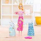 Кукла модель «Арина» с летними нарядами и аксессуарами, МИКС, фото 4
