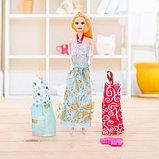 Кукла модель «Арина» с летними нарядами и аксессуарами, МИКС, фото 5