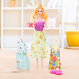 Кукла модель «Арина» с летними нарядами и аксессуарами, МИКС, фото 7