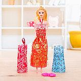 Кукла модель «Арина» с летними нарядами и аксессуарами, МИКС, фото 8
