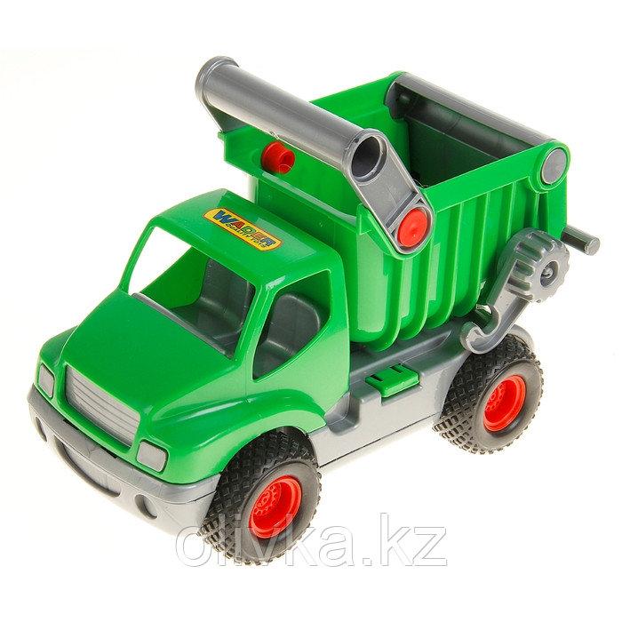 Автомобиль-самосвал «КонсТрак», зелёный