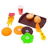 Игровой набор продуктов «Готовим бургеры», фото 2