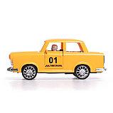 Машина инерционная «Такси», открываются двери, световые и звуковые эффекты, фото 2