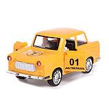 Машина инерционная «Такси», открываются двери, световые и звуковые эффекты, фото 4